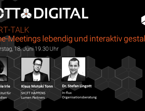 GOTT@DIGITAL XPERT-TALK #1 Online-Meetings lebendig und interaktiv gestalten