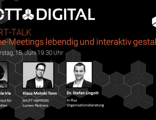 GOTT@DIGITAL XPERT-TALK #1 Online-Meetings lebendig und interaktiv gestalten