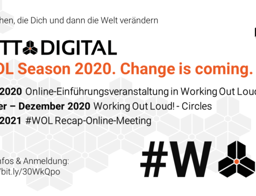 GOTT@DIGITAL #WOL Season 2020. Change is coming.