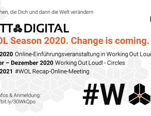 GOTT@DIGITAL #WOL Season 2020. Change is coming.