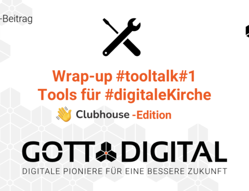 Wrap-up #tooltalk#1 auf Clubhouse: New Normal in 2021 gestalten