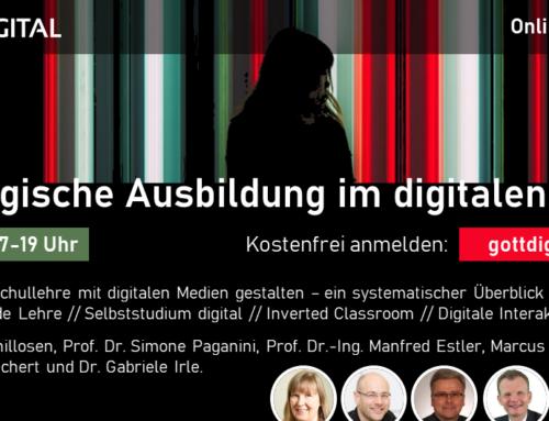 Online-Konferenz: Theologische Ausbildung im digitalen Raum
